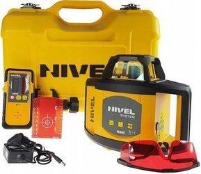 Niwelator rotacyjny laserowy NIVEL SYSTEM NL500 Czerwony