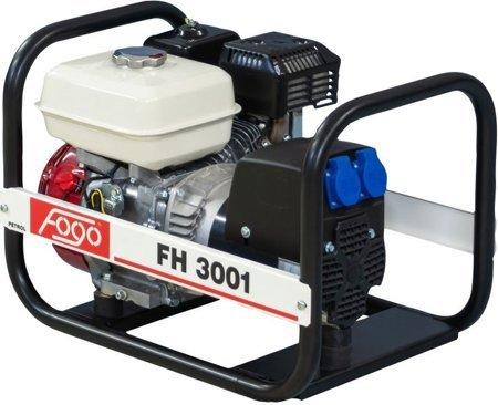 Agregat prądotwórczy FOGO FH 3001 + Olej + Darmowa DOSTAWA