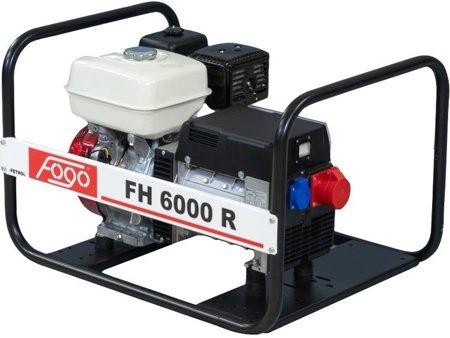 Agregat prądotwórczy FOGO FH 6000 R + Olej + Darmowa DOSTAWA