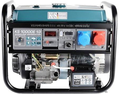 Agregat prądotwórczy KONNER & SOHNEN KS 10000E 1/3 + Olej + Darmowa DOSTAWA