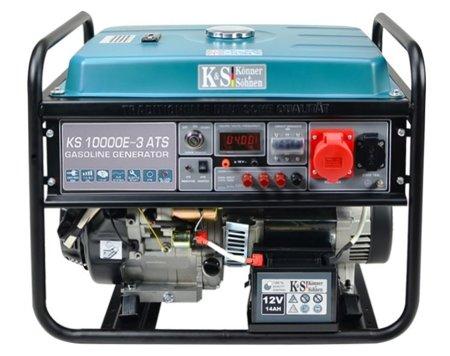 Agregat prądotwórczy KONNER & SOHNEN KS 10000E-3 ATS + Olej + Zestaw Transportowy