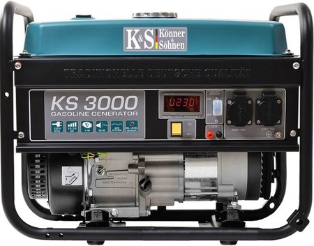 Agregat prądotwórczy KONNER & SOHNEN KS 3000 + Olej + Darmowa DOSTAWA