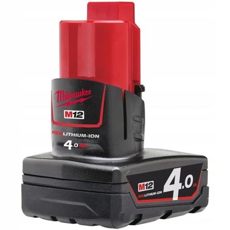 Akumulator MILWAUKEE M12 B4 4.0Ah 12V